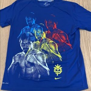 NIKE Authentic Dri Fit Manny Pacquiao Tee Shirt